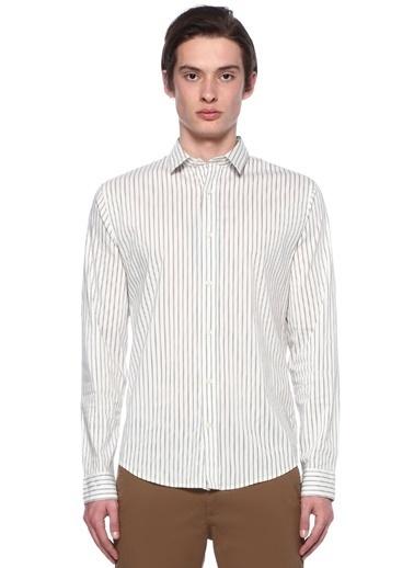 Vince Gömlek Beyaz